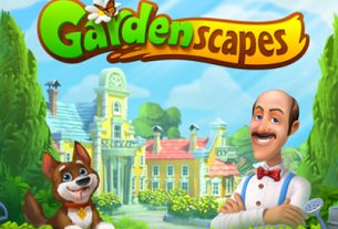 Gardenscapes Exciting puzzle game